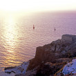 Sunset in Oia — Stock Photo