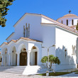 Greece white church — Stock Photo #2458687