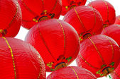 Red lantern Chinese culture — Stock Photo