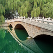 Stock Photo: Picturesque landscape, stone bridge