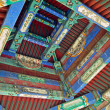 Interior of  historic architecture China — Stockfoto