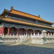 Historic chinese building in China — Stock Photo