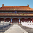 Historic chinese building in China - Stock Photo