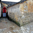 Stock Photo: Historic building and Alley in China