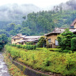 Mountain village in Japan — Stock Photo