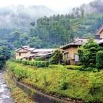 Mountain village in Japan — Stock Photo #2564254