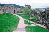 Ruin castle in Scotland — Stock Photo