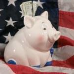 American savings — Stock Photo