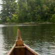 Voyager canoe - Stock Photo