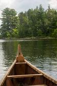 Voyager canoe — Stock Photo