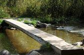 Itaska wooden bridge — Stock Photo