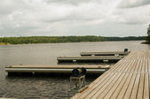 Empty docks — Stock Photo