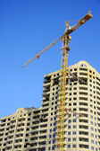 Highrise Construction Site — Stock Photo