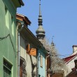 Backstreet in Sighisoara — Stock Photo