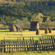 Landscape in Bucovina,Romania - Stock Photo