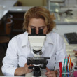 Female researcher - Stock Photo