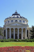 Romanian Athenaeum in Bucahrest,Romania — Stock Photo