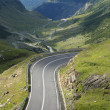 High altitude road — Stock Photo