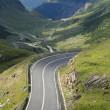 High altitude road — Stock Photo