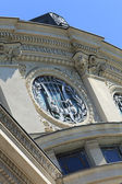Romanian Athenaeum-detail — Stock Photo