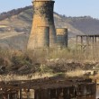 Stock Photo: Heavy industry ruins