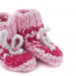 Royalty-Free Stock Photo: Baby footwear