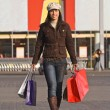 Stock Photo: Woman shopping