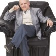 Royalty-Free Stock Photo: Thoughtful senior man
