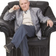 Stock Photo: Thoughtful senior man