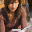 Girl student reading — Stock Photo #2006351
