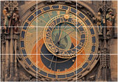 Astronomical clock-Prague — Stock Photo