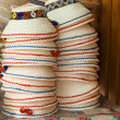 Royalty-Free Stock Photo: Stack of Romanian hats