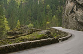 Road in Bicaz canyon — Stock Photo
