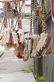 Traditional romanian bags — Stock Photo
