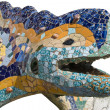 Mosaic chamaeleon — Stock Photo