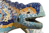 Mosaic chamaeleon — Stock Photo