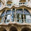 Window of casa batllo - Stock Photo