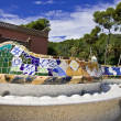 Seat bench in park guell — Stock Photo #1876116
