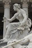 Famous statue — Stock Photo