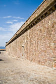 Castell de montjuic — Stock Photo