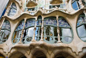 Window of casa batllo — Stock Photo