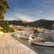 Hvar at morning — Stock Photo
