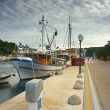 Embankment in Vrboska, Croatia — Foto Stock