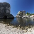 Forts Bokar and Lovrijenac in Dubrovnik — Stock Photo