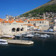 Old port in Dubrovnik — Stock Photo