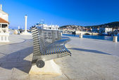 Quay in Tragir — Stock Photo
