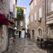 Stock Photo: Street in Budva