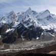 Foto Stock: Nepal. Mountain Manaslu vicinities