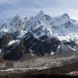 Stockfoto: Nepal. Mountain Manaslu vicinities