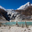 Stock Photo: Nepal. Glacial lake